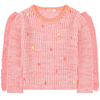 billieblush ruffles and pompoms sweater