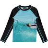 molo neptune long sleeved swim shirt