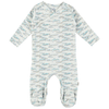 kidscase philly organic footed onesie