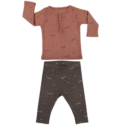 red caribou bright stars baby set