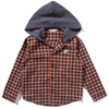 munsterkids huffle hooded flannel