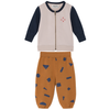 bobo choses track jacket shapes baby set