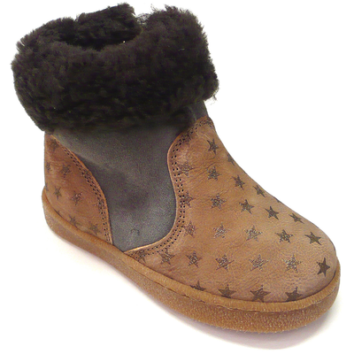 pepe star fur-lined boots