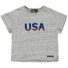 finger in the nose drop usa t-shirt