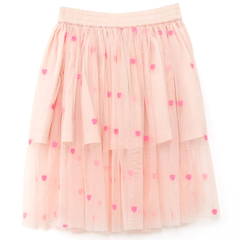 yoya, kids, girls, stella mccartney, summer, dressy casual, tulle, embroidered, tiered skirt