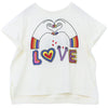 yoya, kids, girls, stella mccartney, summer, short sleeved, graphic t-shirt,