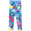 yoya, kids, girls, stella mccartney, summer, casual, lounge, graphic printed, leggings