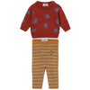 bobo choses saturn stripes baby set