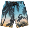 finger in the nose goodboy motopalm bermuda shorts