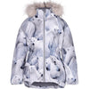 molo cathy fur hooded coat