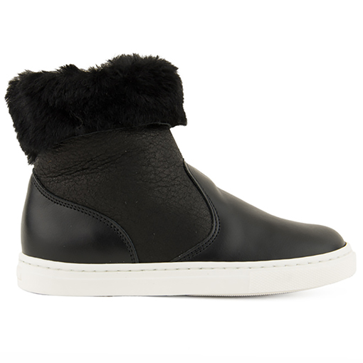 pepe shearling sneakers