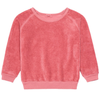 yoya kids childrens morley girls terry pullover crew neck sweater