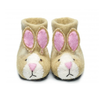 sew heart felt ruby rabbit slippers
