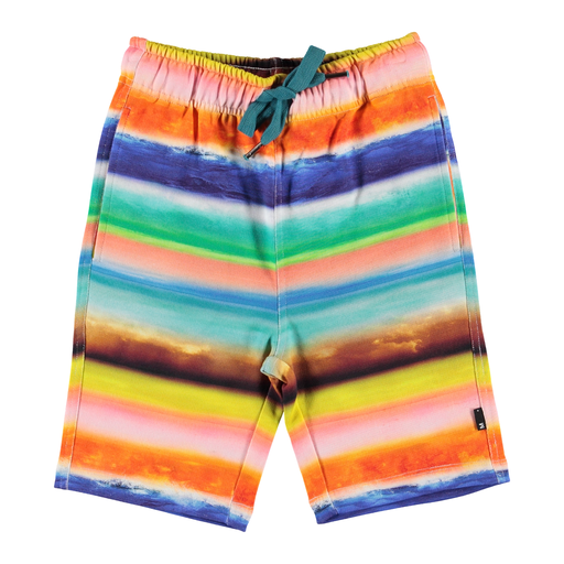 yoya, kids, boys, molo, summer, lightweight, lounge, graphic printed, drawstring, pull on, sweat shorts