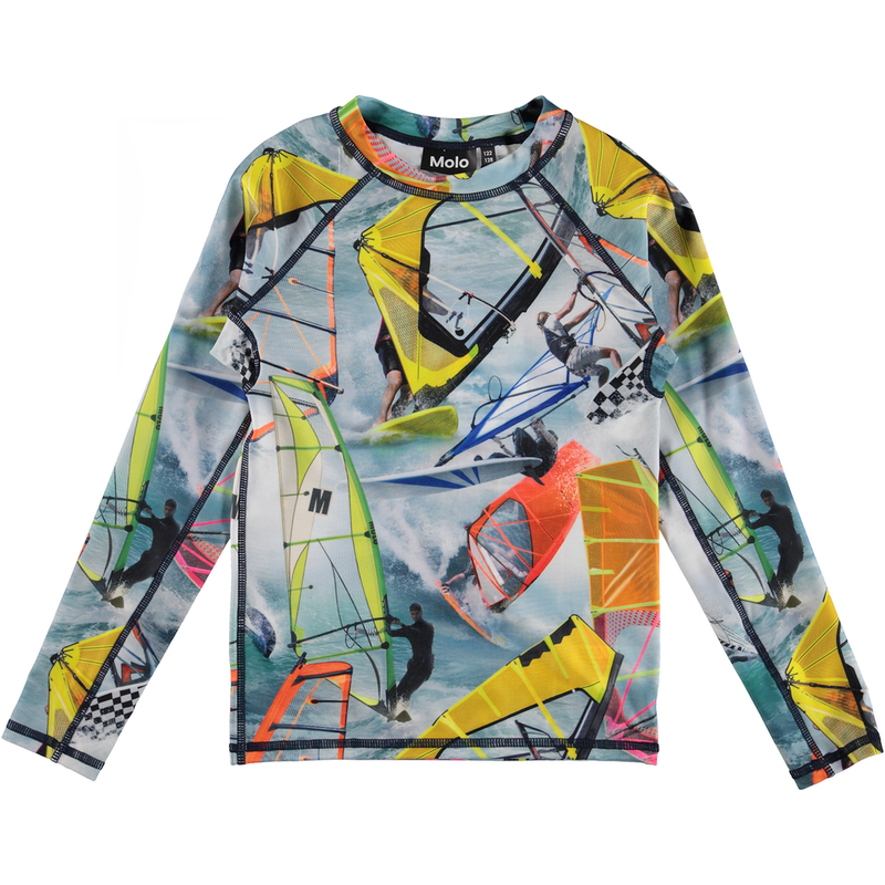 yoya, kids, boys, girls, molo, summer, graphic printed, swim, rash guard, swim shirt