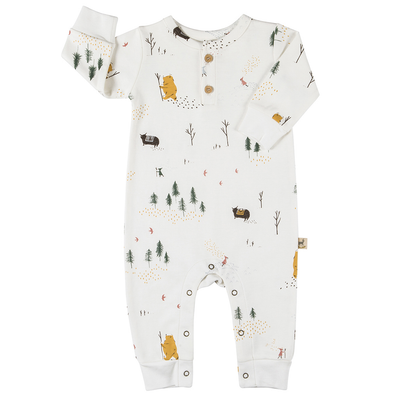 red caribou organic basic jumpsuit