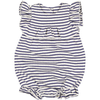 yoya kids childrens louis louise elie romper ruffled sleeves baby casual striped