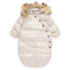 bonton baby puffa coat with feet