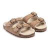 bobo choses stars sheepskin sandals