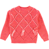 billieblush diamond pattern sweater