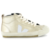 veja botinha lace-up leather sneaker
