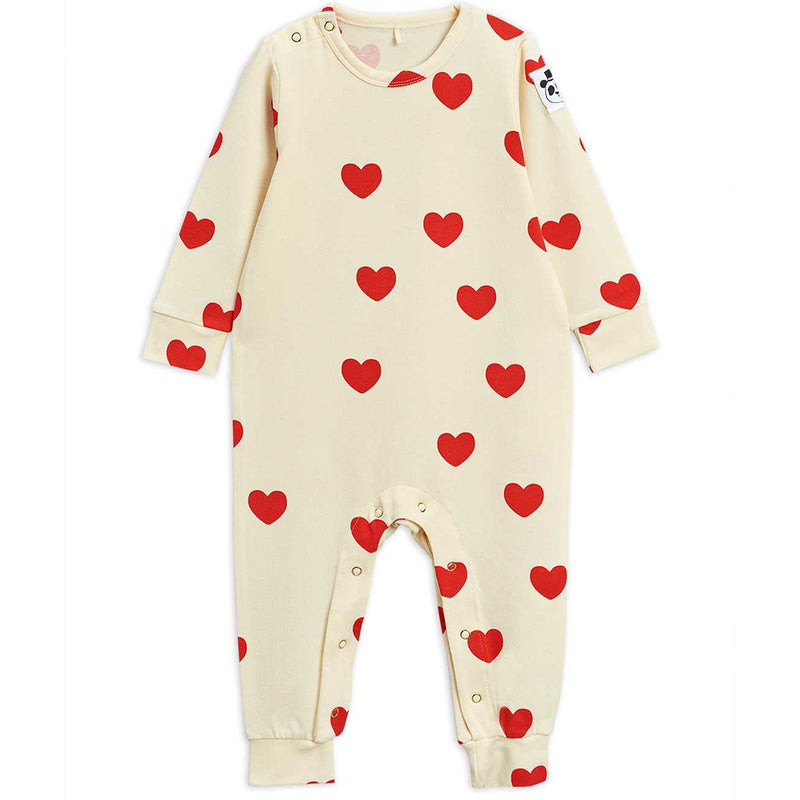 mini rodini hearts baby jumpsuit