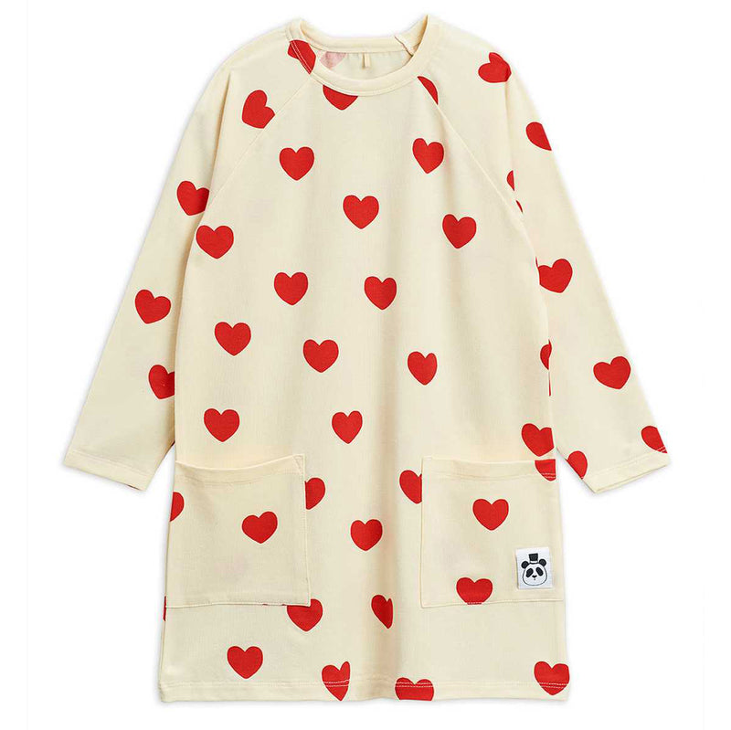 mini rodini hearts pocket dress