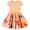 yoya, kids, girls, molo, summer, lightweight, casual, fit and flare, graphic printed, full skirted dress