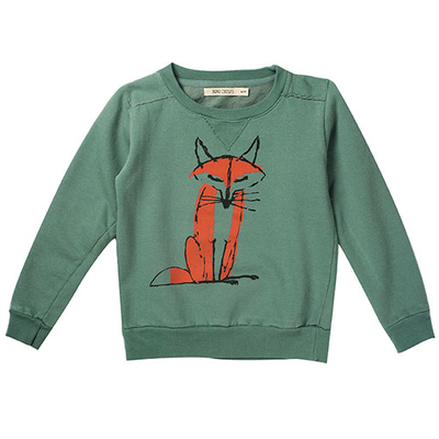 bobo choses fox sweatshirt