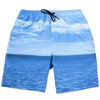 finger in the nose goodboy seascape bermuda shorts