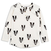 mini rodini badger long sleeve tee shirt