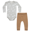 quincy mae onesie and leggings baby set