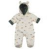 red caribou padded insulated jumpsuit