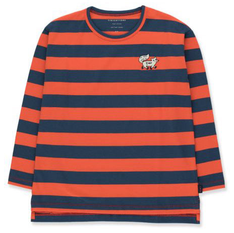 tiny cottons tiny fox stripes t-shirt