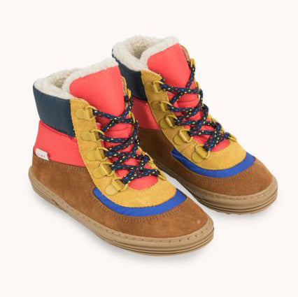 tiny cottons color block chunky boot