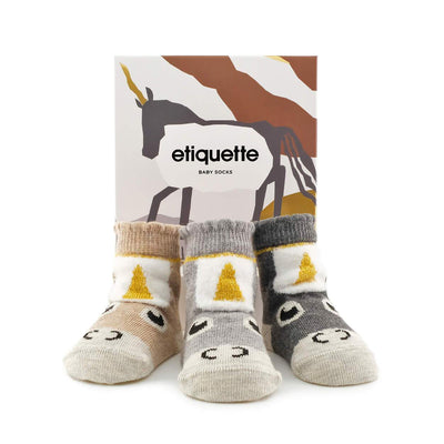 etiquette unicorn baby bundle
