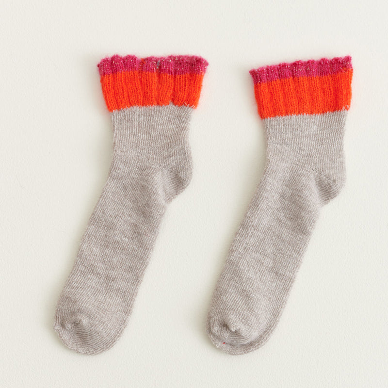 bellerose falia ankle socks