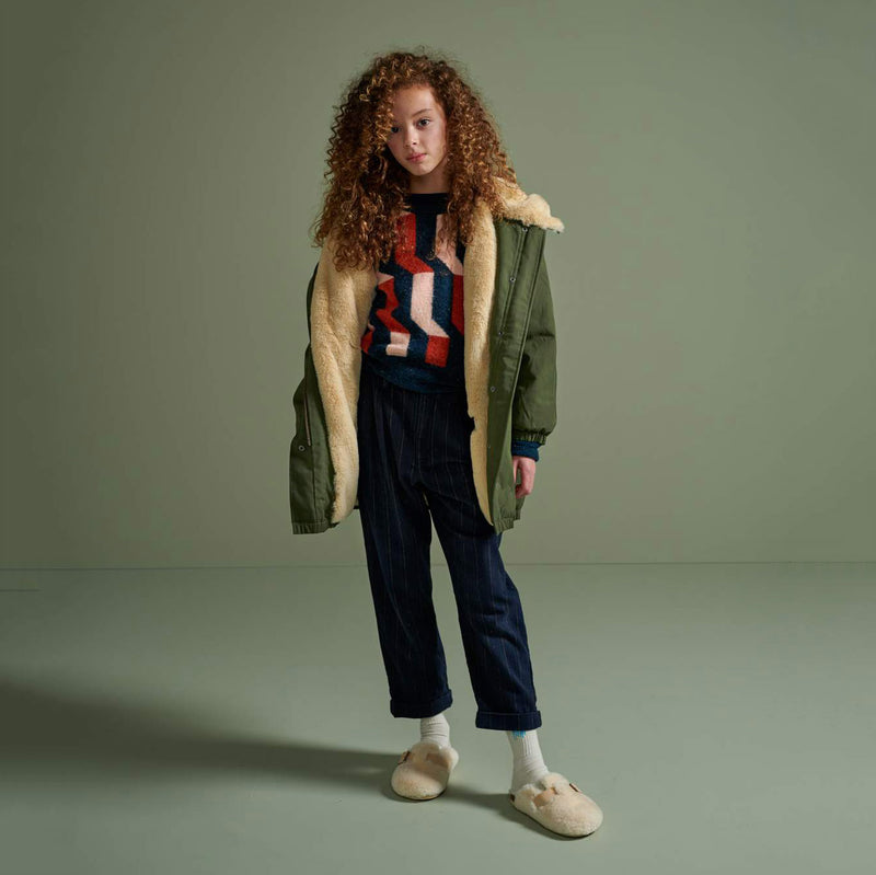 bellerose harbour faux fur anorak