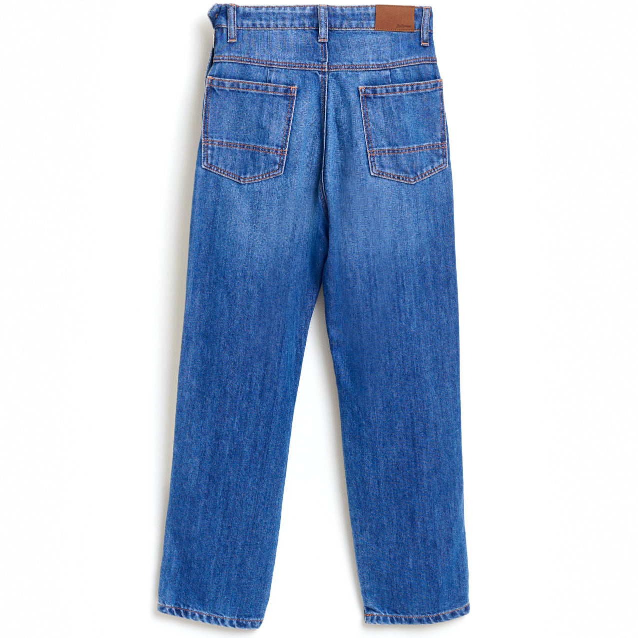 bellerose straight worn jeans
