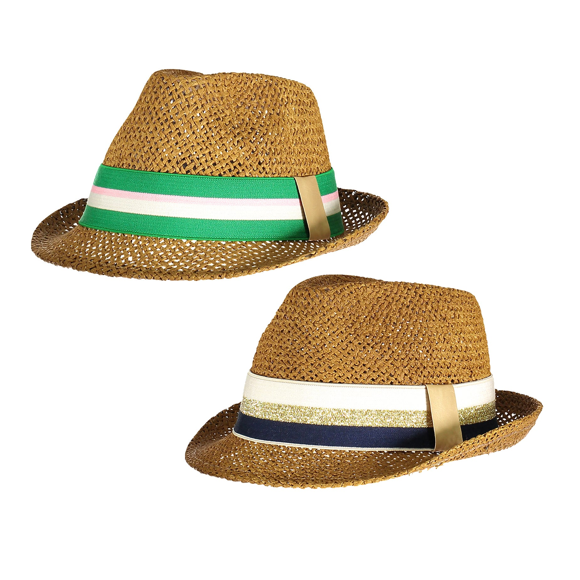 yoya kids blune brigitte hat summer casual ribbon fedora