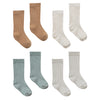 yoya kids quincy mae baby socks 4 pack more colors accessory