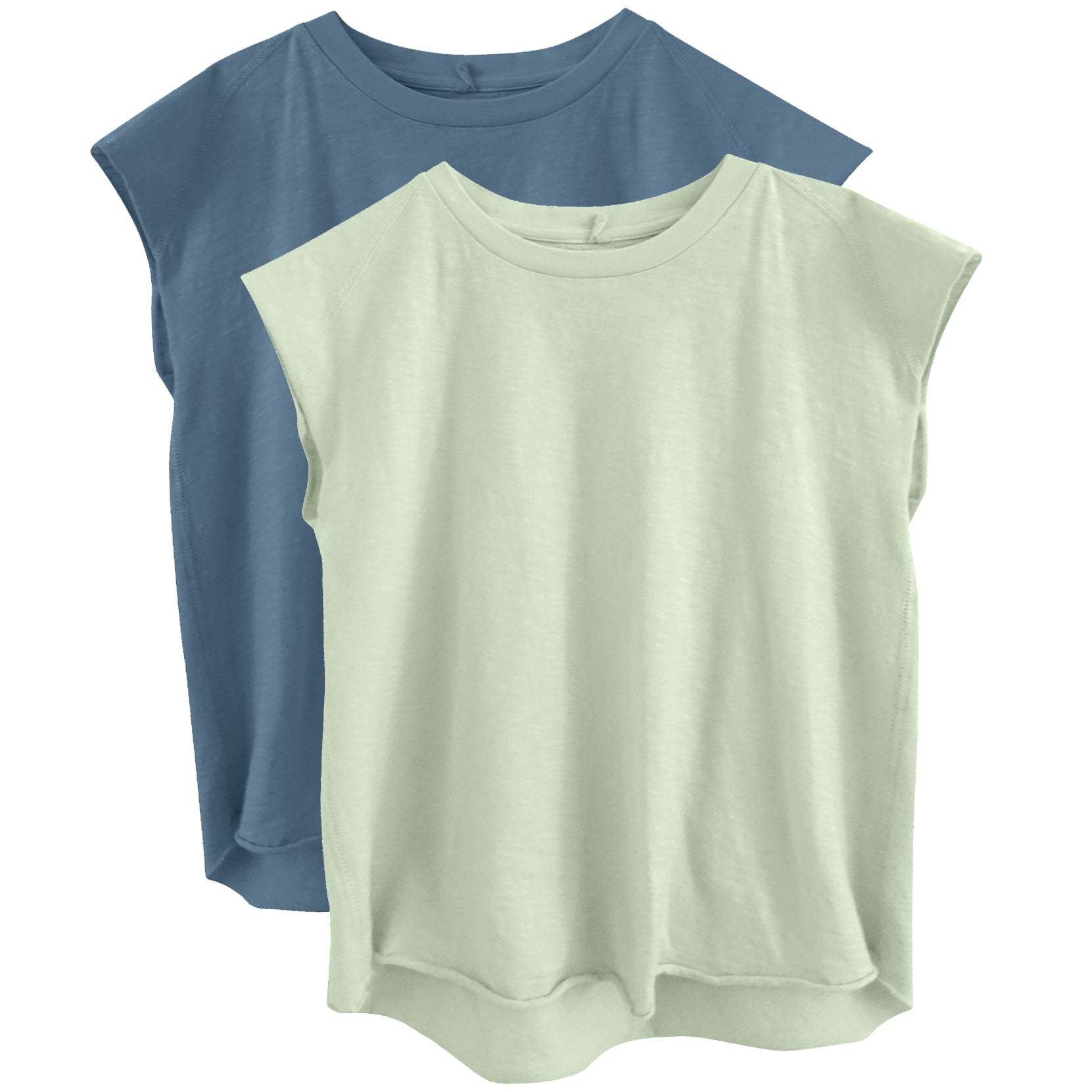 yoya, kids, boys, girls, nico nico, summer, casual, lounge, basic, sleeveless, crewneck, muscle tshirt