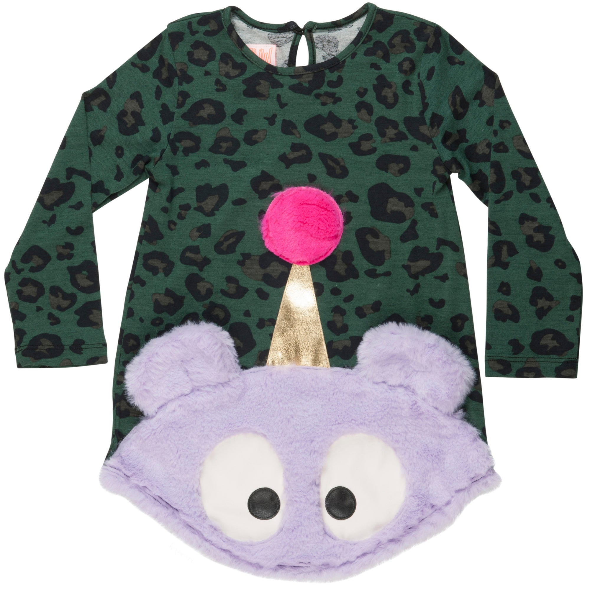 wauw capow surprise teddy dress