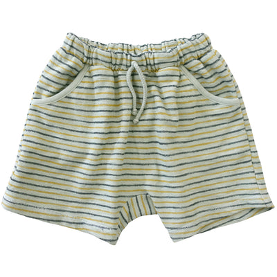 yoya, kids, boys, nico nico, summer, casual, lounge, coverup, terry cloth, elastic waist, drawstring, pull on sweat shorts
