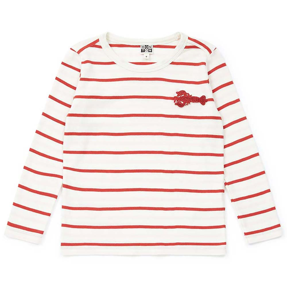 bonton lobster long sleeved t-shirt