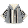 bonton burnou baby coat