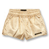 yoya kids finger in the nose holiday metallic shorts girls summer casual elastic waistband