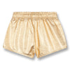 finger in the nose holiday metallic shorts