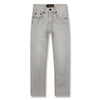 yoya kids finger in the nose icon jeans bleached grey summer girls casual