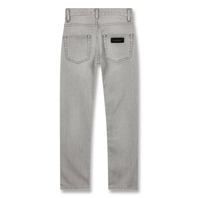 finger in the nose icon jeans
